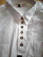 Tiroli fehér pamut férfi ing 40/41