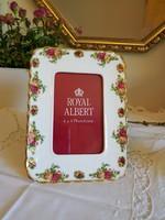 Royal Albert Old Country Roses porcelán  képkeret