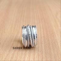 Sterling ezüst forgó gyűrű