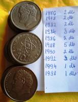 10 drachmás görög  érmék  eladó