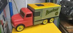 Pilsner Urquell,régi lemezjatek,teherauto,hűtőkocsi. Tatra 138