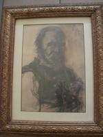 Nagy Károly : Portré (Tolsztoj?)