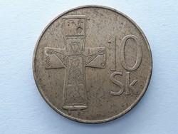Szlovákia 10 Korona 1994 - Szlovák, Slovenska Republika 10 korun érme eladó