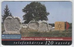 Magyar telefonkártya 0346  1998 Balatonudvari GEM 3     37.500  Db-os