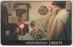 Magyar telefonkártya 0359  1999 Betlehem     50.000  Db-os