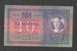 10 korona 1904.  EF!!  GYÖNYÖRŰ!!!