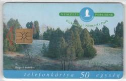 Magyar telefonkártya 0337  1999 Kiskunsági nemzeti park    50.000  Db-os
