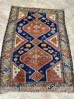 Antik kaukázusi szőnyeg 136x96 cm