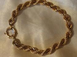 18K arany 11,5 gramm - uniszex karkötő