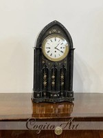 Biedermeier gótikus asztali óra 1850