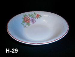 Ritka virág mintás Arpo porcelán tálaló pogácsás tál