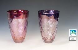 Murano üveg váza. Rozsaszin. Ritka!  F-24