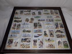 John Player & Sons kerékpáros cigarettakártyák komplett 50 darabos, 1939-es kiadású ritkaság
