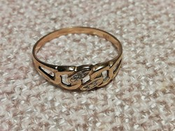 Női arany gyűrű, 585, 14K
