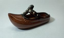 Kerámia cipő, perzsacipő alakú hamutál