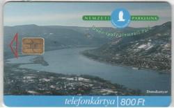 Magyar telefonkártya 0339  1999 Duna.Ipolyi nemzeti park   200.000  Db-os