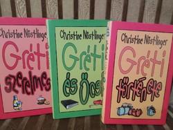 Christine Nöstlinger, Gréti könyvek (Gréti és Öcsi, Gréti szerelmes, Gréti története) egyben