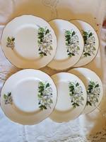 Royal Stafford Camellia csontporcelán sütemènyes tànyérok