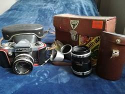 Fényképező, teleobjektív és egyebek