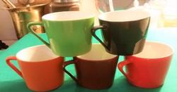 5 db.Hollóházi porcelán kávéscsésze - nosztalgikus darabok pótlásnak