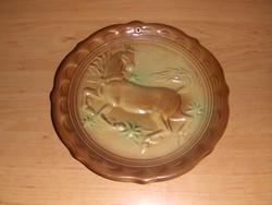 Falitányér domború ló motívummal átmérő 20 cm (ap)