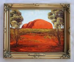 Henk Guth - Ayers Rock című festménye