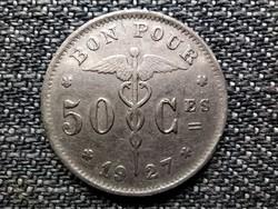 Belgium I. Albert (1909-1934) 50 centime (francia szöveg) 1927 (id42125)