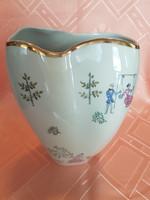BAVARIA különleges formájú, romantikus váza!