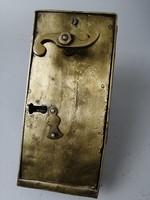 Barokk sárgaréz ajtózár - Baroque antique door lock