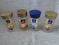 Kávésüvegek tetővel tároláshoz (Tchibo kávé, üveg) 4.