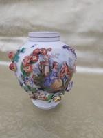 1 ft os aukció. Dresden 19 sz antik váza.