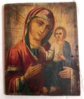 Szűz Mária a karján ülő Jézussal – Ikon – 19.