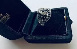 925-ös nagyméretű ezüst gyűrű