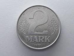 Németország 2 Márka 1977 A - Német 2 mark érme eladó