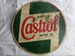 CASTROL tábla a '20-as évekből, CASTROL WERBESCHILD