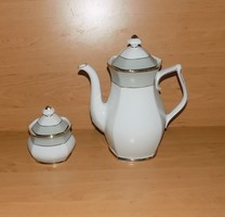Winterling Bavaria Marktleuthen porcelán tea kávé kiöntő cukortartóval 1,5 liter (24/d)
