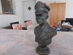 WW2,Erwin Rommel bronz szobor,12 cm