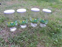 Régi üveg befőzéshez, befőttesüveg (2 liter) 3.