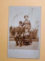 Antik levelezőlap - fotó képeslap, 1900-as évek eleje