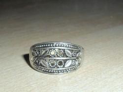 Régi Pillangó mint. Tibeti ezüst Gyűrű 7-es