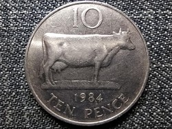 Guernsey 10 penny 1984 (id42128)