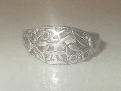 Szeretet Keleti írásjelű Tibeti ezüst Gyűrű 8-as