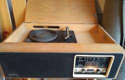 Videoton Verona típusú lemezjátszó ,rádió