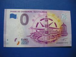 EURÓPAI UNIÓ 0 EURO 2020! VILÁGÍTÓTORONY! RITKA EMLÉK PAPÍRPÉNZ!