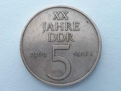 Németország 5 márka 1969 - Német XX Jahre DDR 5 mark érme eladó