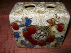 Kerámia ikebana kézműves váza