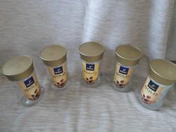 Kávésüvegek tetővel tároláshoz (Tchibo kávé, üveg) 5.