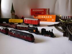 Roco Modellvasút szett sínek vonatok kocsik épületek