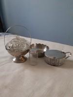 Vegyes csomag (bonbonier, sótartó, cukortartó, kínáló tálka)
