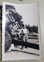1954 Kecel táborhely 122-es tarackok